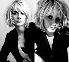 - hair styles for short hair Melanie Laurent /. - hair styles for short hair Melanie Laurent /. Melanie Laurent, Girl Short Hair, Short Hair Cuts, Girl Hair, Pixie Cuts, Curly Short, Long Pixie, Medium Hair Styles, Curly Hair Styles