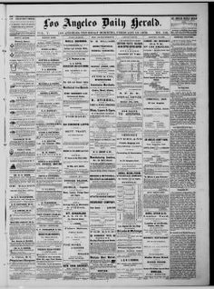 The California Digital Newspaper Collection contains more than 400,000 pages of significant historical California newspapers published from 1846 to 1922, including the first California newspaper, The Californian, and the first daily California newspaper, The Daily Alta California. It also contains issues of several current California newspapers that are part of a pilot project to preserve and provide access to contemporary papers.