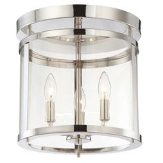Savoy House Penrose 3 Light Semi Flush Mount
