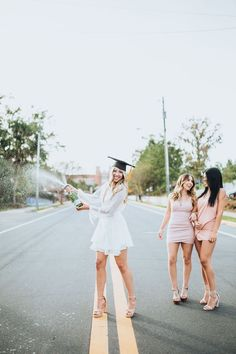 me/graduation graduation outfit college FSU graduation Graduation Dress College, Short Graduation Dresses, College Graduation Pictures, Graduation Picture Poses, Graduation Photoshoot, Grad Pics, Grad Pictures, Graduation Outfits For Women, Mean Girls Outfits