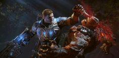 Gears of War 4 : Quelques extraits violents avant la beta
