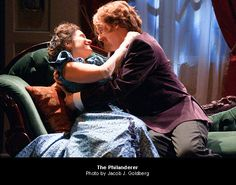 george bernard shaw's The Philanderer @ The Pearl.  well done.  great fun.  a surprise vis a vis shaw