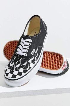cacba27d87b8 Vans Authentic Checkerboard Flame Sneaker  sneakers Vans Checkerboard