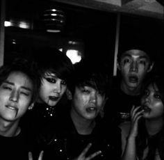Eric Nam, Ailee, Henry + U-KISS' Juhyun and Kevin take Halloween pictures | http://www.allkpop.com/article/2013/10/eric-nam-takes-a-scary-halloween-picture-with-ailee-henry-and-u-kiss-juhyun-and-kevin