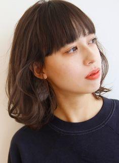 楽チン♪ボブ×エアウェーブ!! 髪型・ヘアスタイル・ヘアカタログ ビューティーナビ