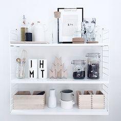 Love me a good shelfie! beautiful image by @elsasrum #designletters #catherinelovatt in store by neutralinstinct