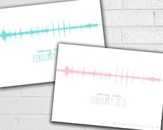 Pregnancy Announcement - Ultrasound Heartbeat - Grandparents - Sound Wave Art - New Baby - Gender Reveal - Printable JPEG - Baby On the Way