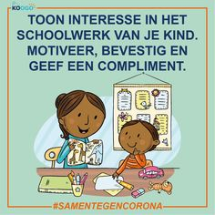 Toon interesse in het schoolwerk van je kind. Motiveer, bevestig en geef een compliment. Kind, Peanuts Comics