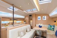 Photos Sailboat Interior Jeanneau 54