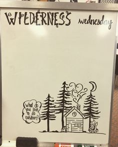 Wilderness Wednesday / outdoors / morning message