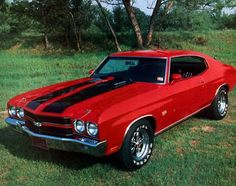 1970 Chevrolet Chevelle SS 396 -- one of the highlights of the muscle car era.
