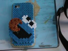 koeki monster van strijkkralen voor iPhone 4s wij maken deze hoesjes voor u kijk maar eens op onze website