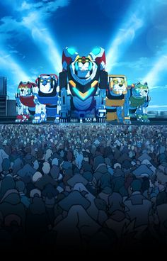 Voltron poster from Netflix's current promo email Voltron Poster, Voltron Comics, Voltron Memes, Voltron Fanart, Form Voltron, Voltron Klance, Hunk Voltron, Voltron Paladins, Voltron Force