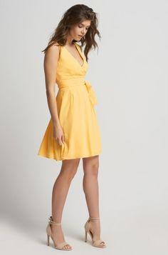 V-Kleid in Wickeloptik   ORSAY