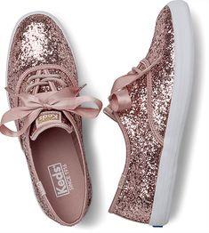 Keds Since 1916 Girls Glitter Shoes, Girls Shoes, Womens Fashion Sneakers, Fashion Boots, Cute Sneakers, Princess Shoes, Ballerina Shoes, Comfy Shoes, Beautiful Shoes