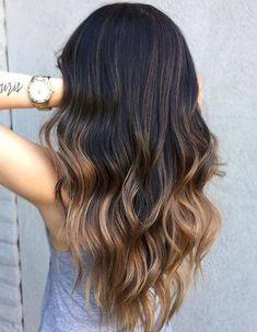 Ombré hair brune