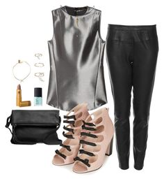 """《☆》"" by bluveraa ❤ liked on Polyvore featuring Calvin Klein Collection, Boutique, Topshop, Roots, ASOS, NARS Cosmetics, Lipstick Queen and Iwona Ludyga"