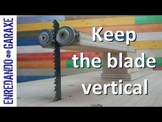 Make a guide to keep the jigsaw blade vertical - YouTube