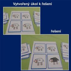 Produkt - Slovní druhy - černá ovce Montessori, Safari