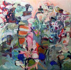 "Saatchi Art Artist Marina Nelson; Painting, ""A Land of Many Flowers"" #art"