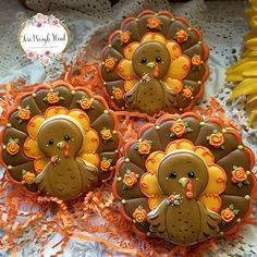 - Gobble by Teri Pringle Wood Fall Decorated Cookies, Fall Cookies, Holiday Cookies, Halloween Sugar Cookies, Sugar Cookie Royal Icing, Iced Sugar Cookies, Cupcake Cookies, Sugar Icing, Turkey Cookies