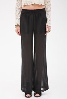 Wide Leg Pants: Shop 17 Awesome Pairs Perfect For Spring - Accordion pleat wide-leg pants, $22.90; at Forever 21
