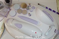 Remington Flawless Nails Manicure and Pedicure Kit ~ More Nail Polish