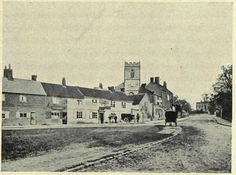 Moseley Village from back in the day...St. Mary's church dates back to 1405