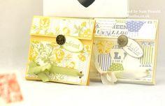 Pootles Stampin Up UK Tea Bag Treat Pouch Tutorial 2