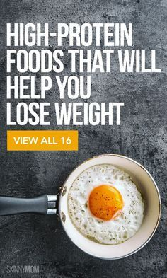 16 foods to help you shed unwanted pounds.