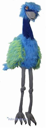 Blauwe emoe