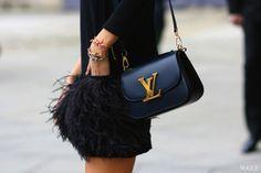 #Bag #Yves Saint Laurent #StreetStyle #Fashion Week