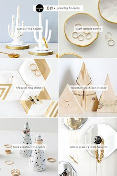 DIY: Jewelry holders
