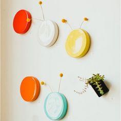 Polka Dot Wall Vase