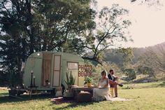 vintage caravan photobooth Elope Wedding, Gold Wedding, Photography Pics, Vintage Caravans, Photo Booth, Glamping, Business Ideas, Trailers, Macrame
