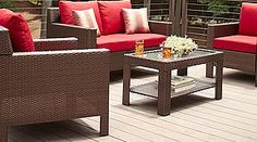 patio furniture for screened in deck