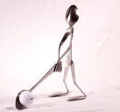 Golfer-Spoon