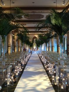 Our Indian Wedding Ceremony Aisle; @ The Drake Hotel, Chicago; Decor: Event Creative, Chicago