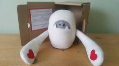 HUG IN A BOX - Yogi Yeti - Handmade Gift for a far away friend by GillsEmporium on Etsy https://www.etsy.com/uk/listing/252132967/hug-in-a-box-yogi-yeti-handmade-gift-for