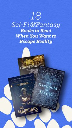 Check out the 18 science fiction and fantasy novels that science fiction and fantasy readers said were their favorite books to read when they want to escape reality. Fantasy Books To Read, Science Fiction Books, Penguin Random House, Bibliophile, Love Book, Book Lists, The Magicians, New Books, Novels