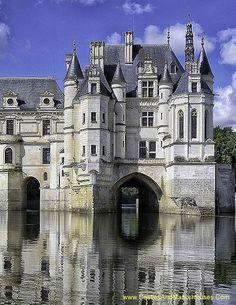 Château de Chenonceau, Chenonceaux, Indre-et-Loire, France - <a…