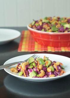 LOVE GARLIC?   garlic recipe collection, including cashew cabbage crunch salad