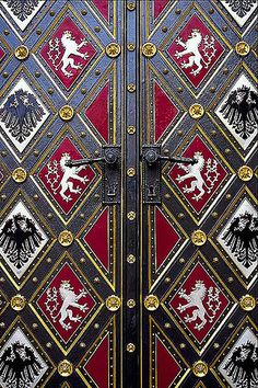 Cool Doors in Prague