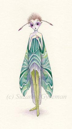 Moth by Suzanne Gyseman