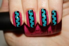 Bright stripes and dots