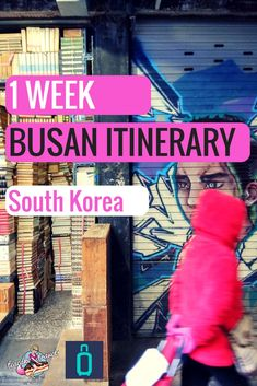Discover the perfect 1 week itinerary for Busan South Korea with hiking, shopping, Korean food and cute cafes #busan #southkorea #travel