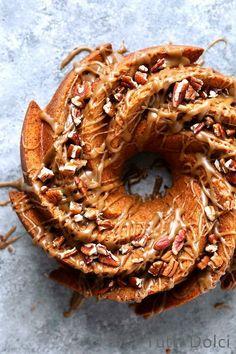 Spice Bundt Cake using Nordic Ware's Heritage Bundt design. Baking Recipes, Cake Recipes, Dessert Recipes, Homemade Desserts, Bunt Cakes, Cupcake Cakes, Cupcakes, Spice Cake, Eat Dessert First