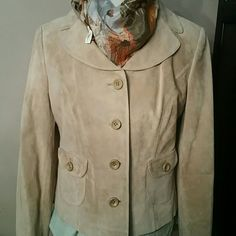 The loft Leather jacket Nwot leather jacket size 10 fully lined the loft Jackets & Coats Blazers