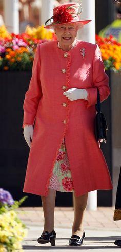 Queen Elizabeth II Visits Birmingham As Part Of Her Diamond Jubilee Tour
