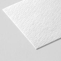 Visite kaartje met textuur papier?